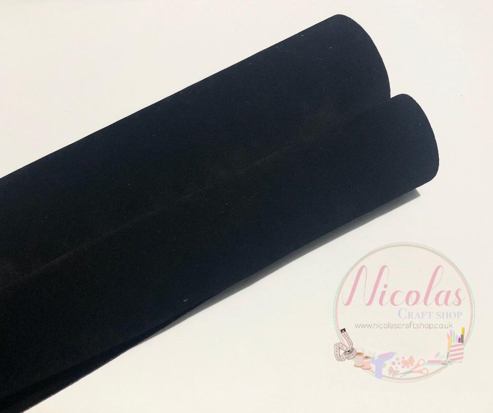 VELVET - Double Sided Black