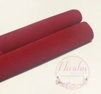 VELVET - Double Sided Christmas Red