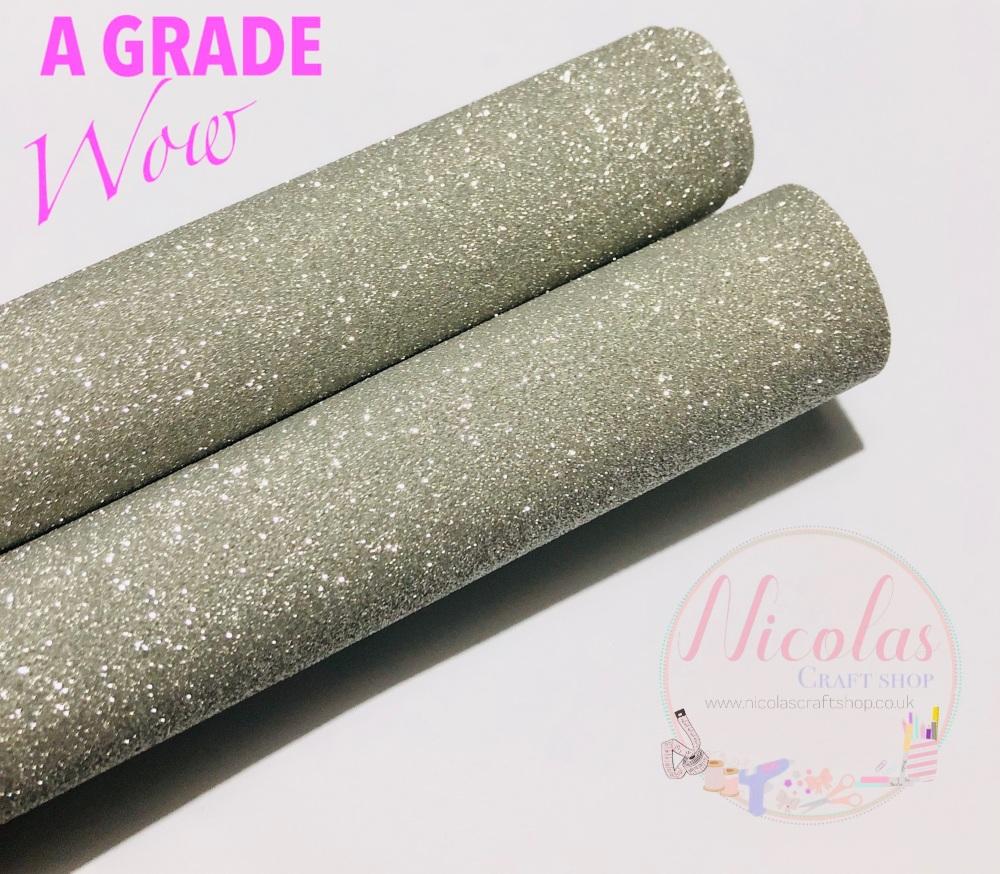 A grade - SILVER SPARKLE fine glitter