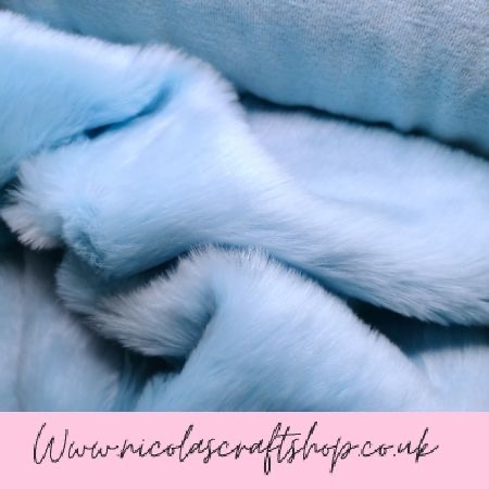 LUXURY EASTER FUR COLLECTION - BABY BLUE