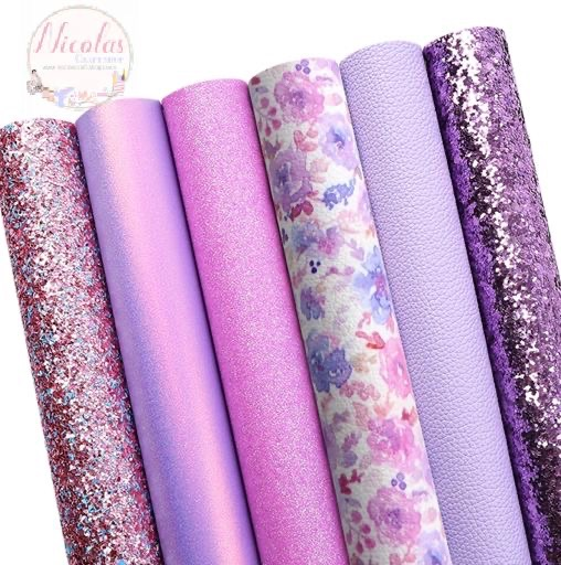 Pretty lilac floral bargain bundle set (6pcs)