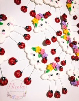 The ladybird inspired cloud polymer clay