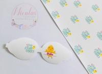 One cute chick personalised Easter pre cut bow loop