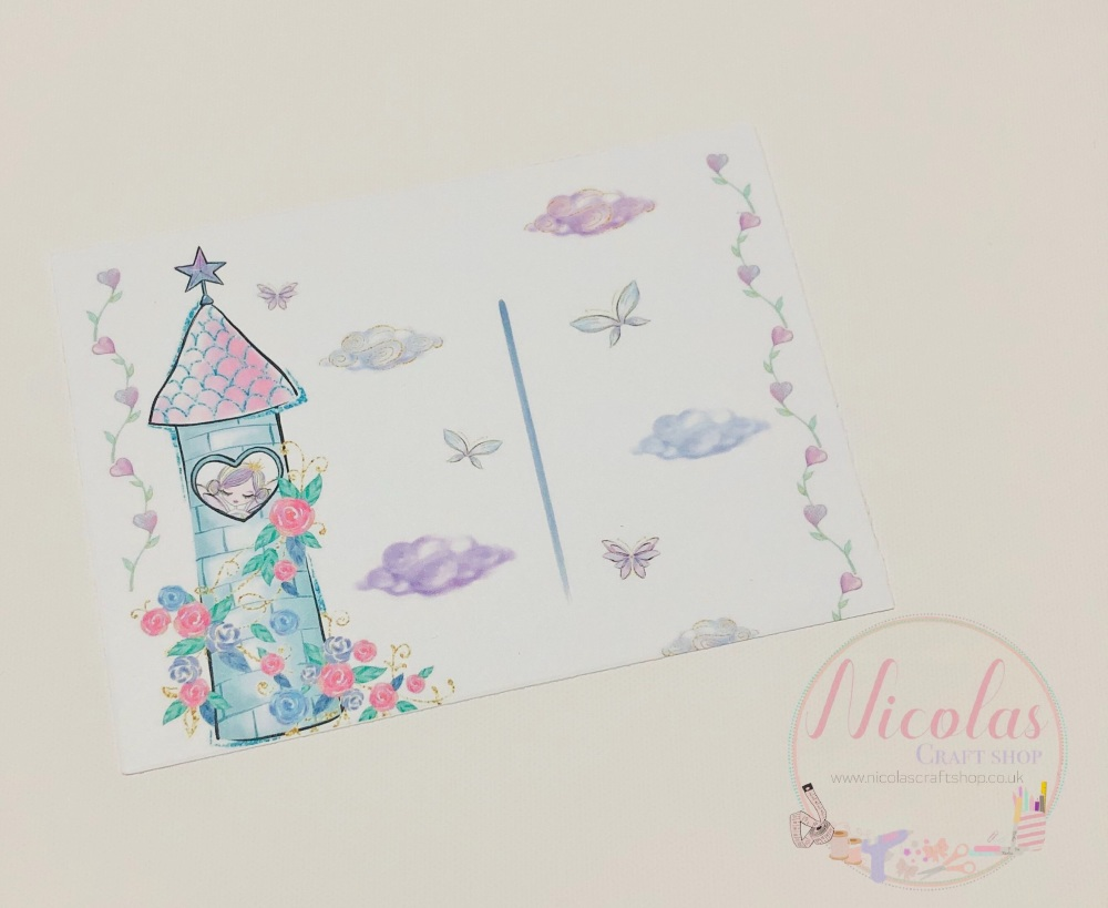 Fairy tower bow display cards (Pack of 10)