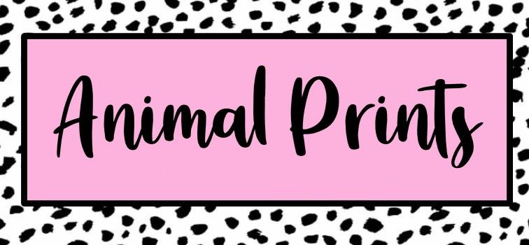 Animal Printed Range