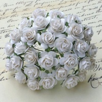 MULBERRY FLOWERS - WHITE