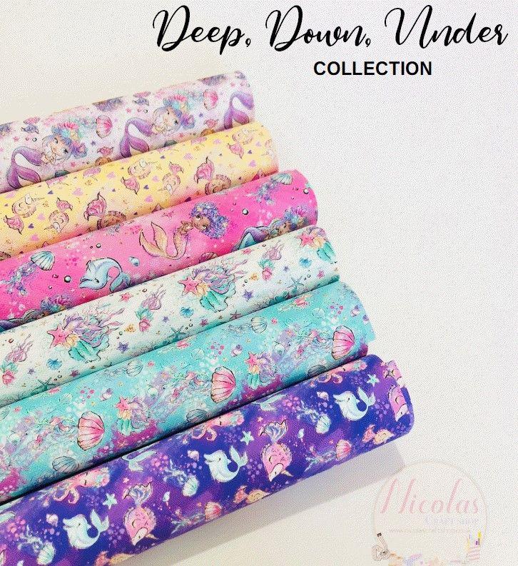 Deep Down Under Printed canvas bundle