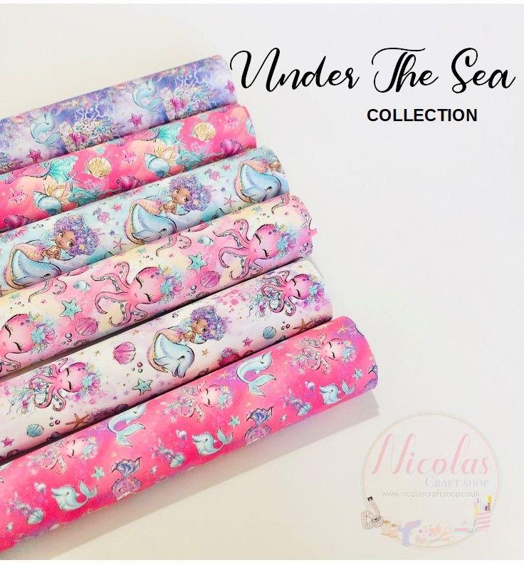 Under The Sea Printed canvas bundle