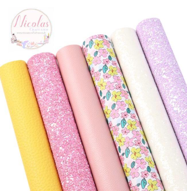 Spring bloom fabric bargain bundle (6pcs)