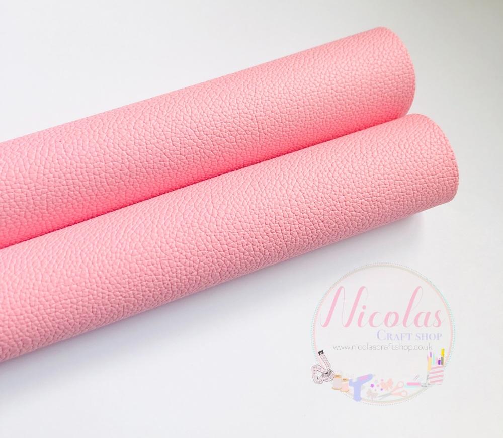 Pink Litchi leatherette fabric