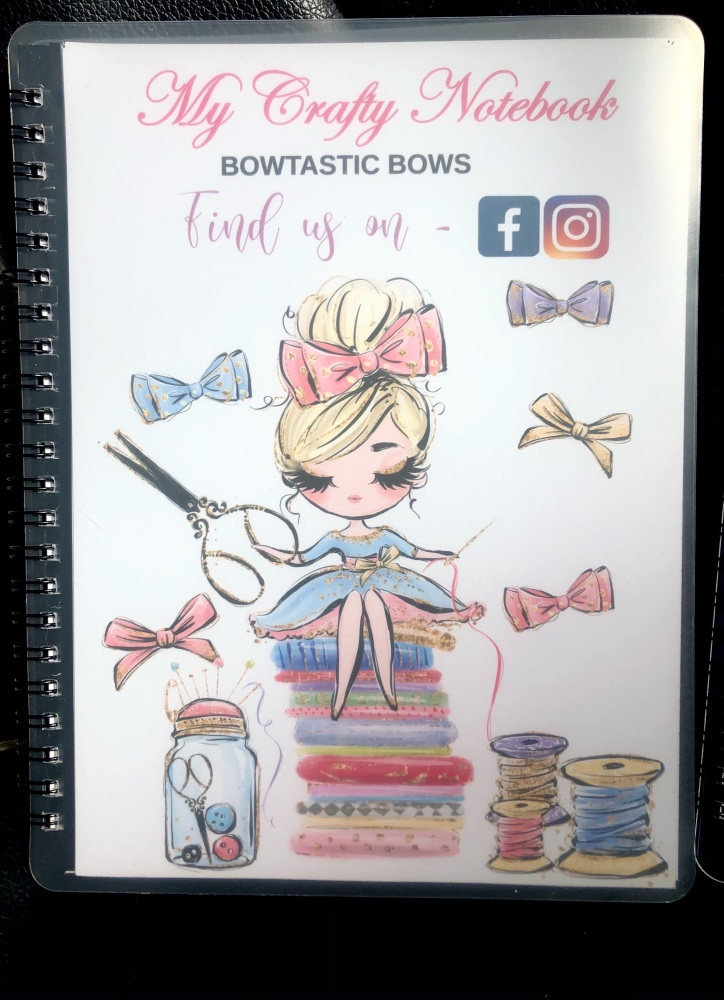 BOW MAKING - MY CRAFTY NOTEBOOK