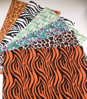 Safari Theme Jungle Printed Canvas Bundle
