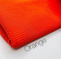 Orange Bullet fabric