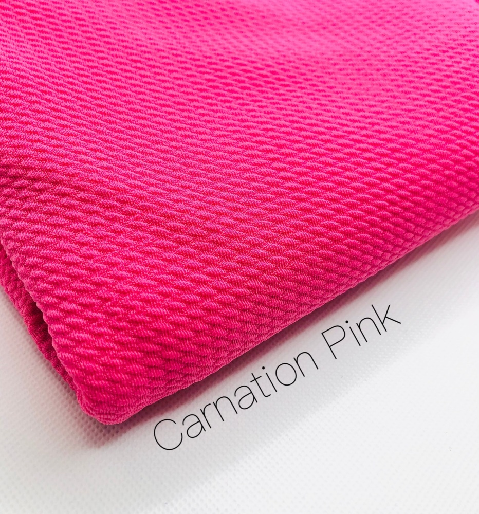 #10 Carnation Pink Bullet Fabric