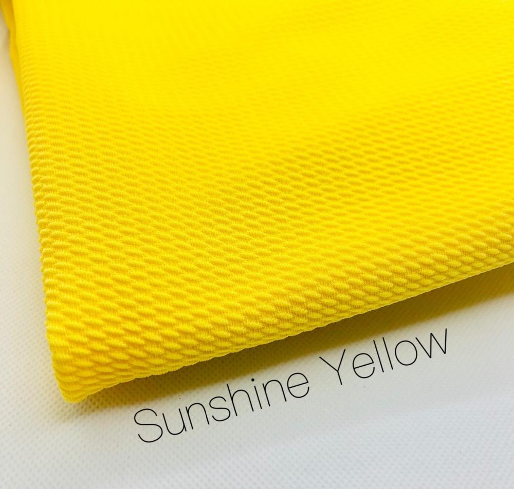 #18 Sunshine Yellow Bullet Fabric