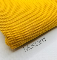 #3 Mustard Yellow Plain Bullet Fabric