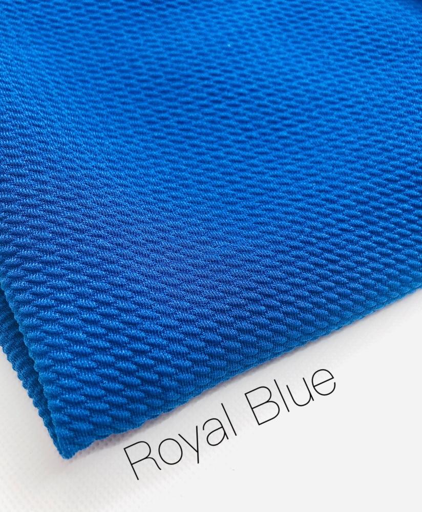 #48 Royal Blue Bullet Fabric
