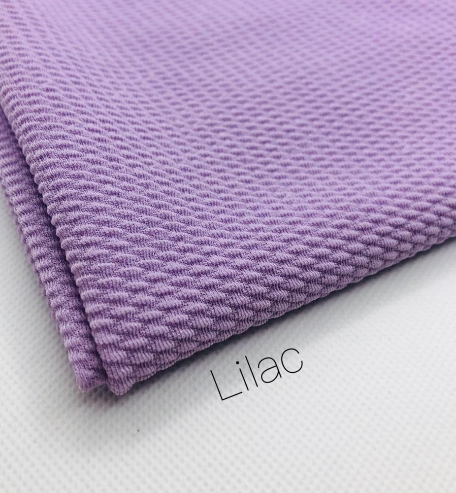 #57 Lilac Purple Plain Bullet Fabric