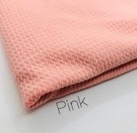 #6 Pink Plain Bullet Fabric
