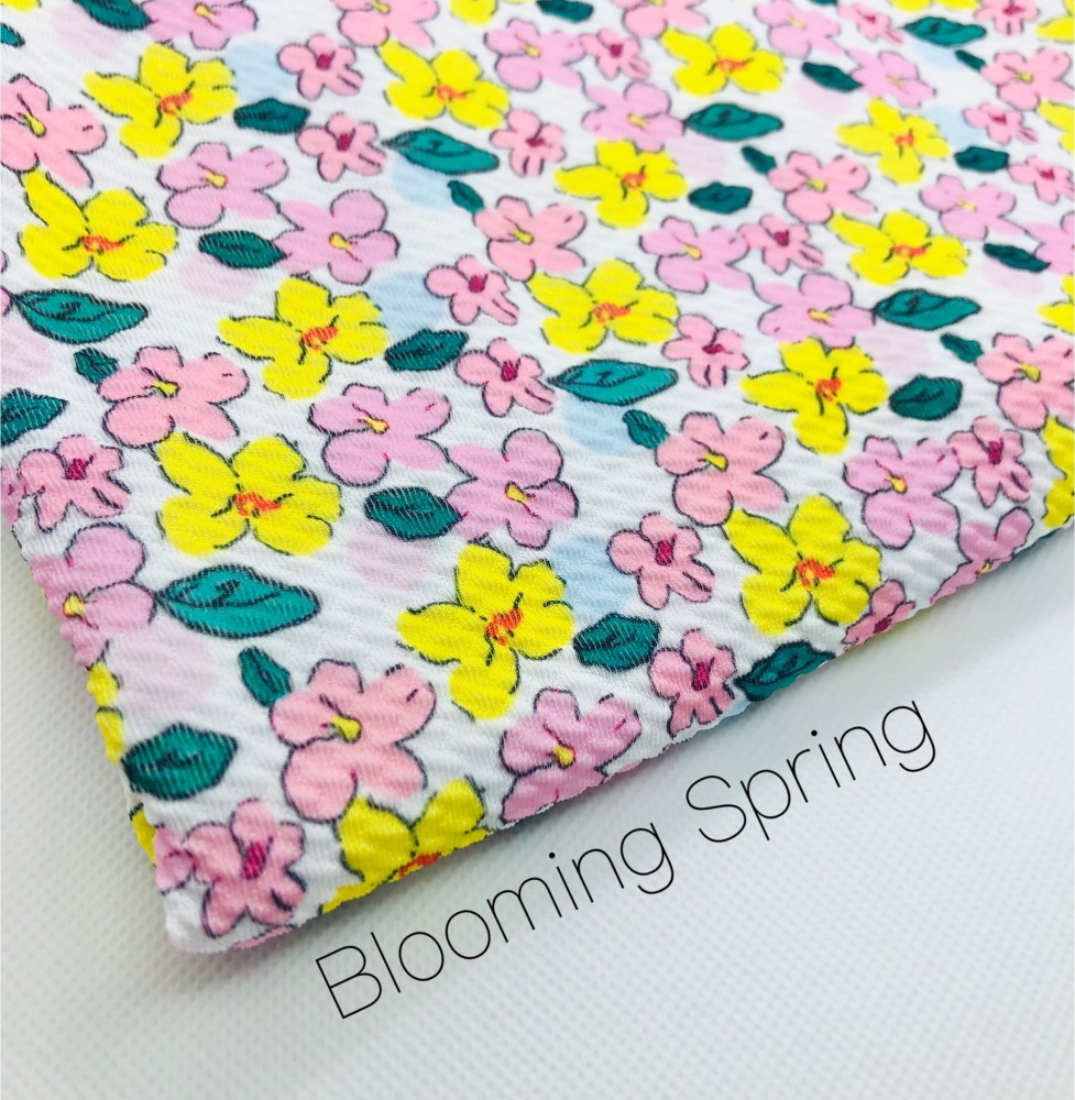 Blooming Spring Bullet Fabric