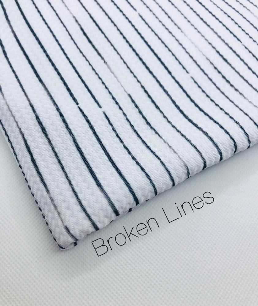 Broken Lines Bullet Fabric