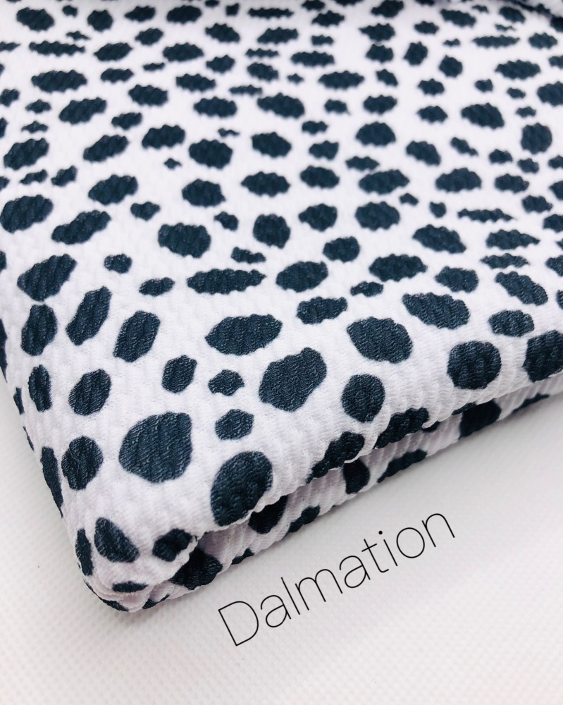 Dalmation print Patterned Bullet Fabric