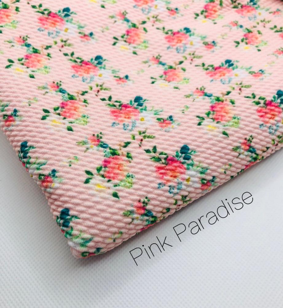 Pink Paradise Bullet Fabric