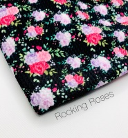 Rocking Roses Bullet Fabric