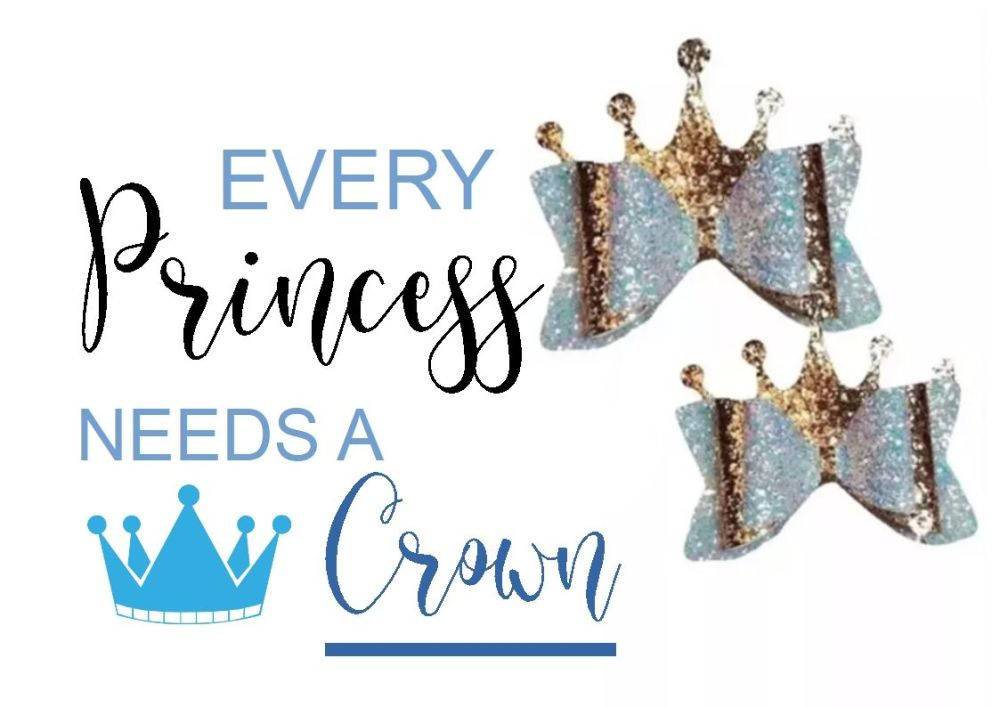 "Every Princess Needs a Crown 3.5"" Cutting Die"