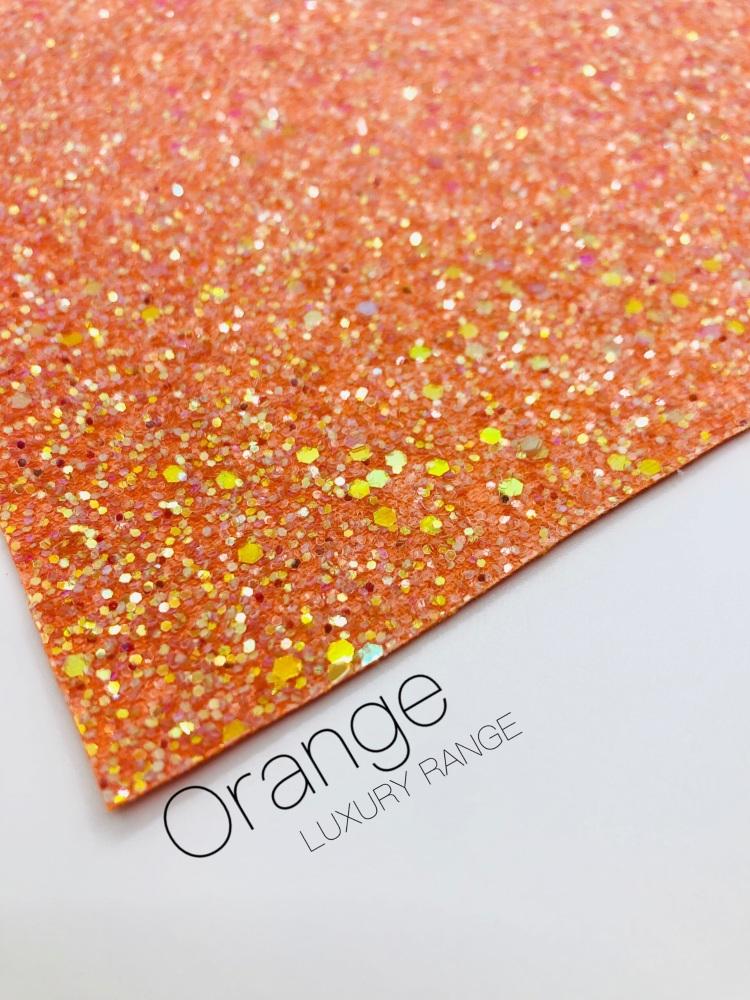 LUXURY - Orange Frosted Chunky Glitter