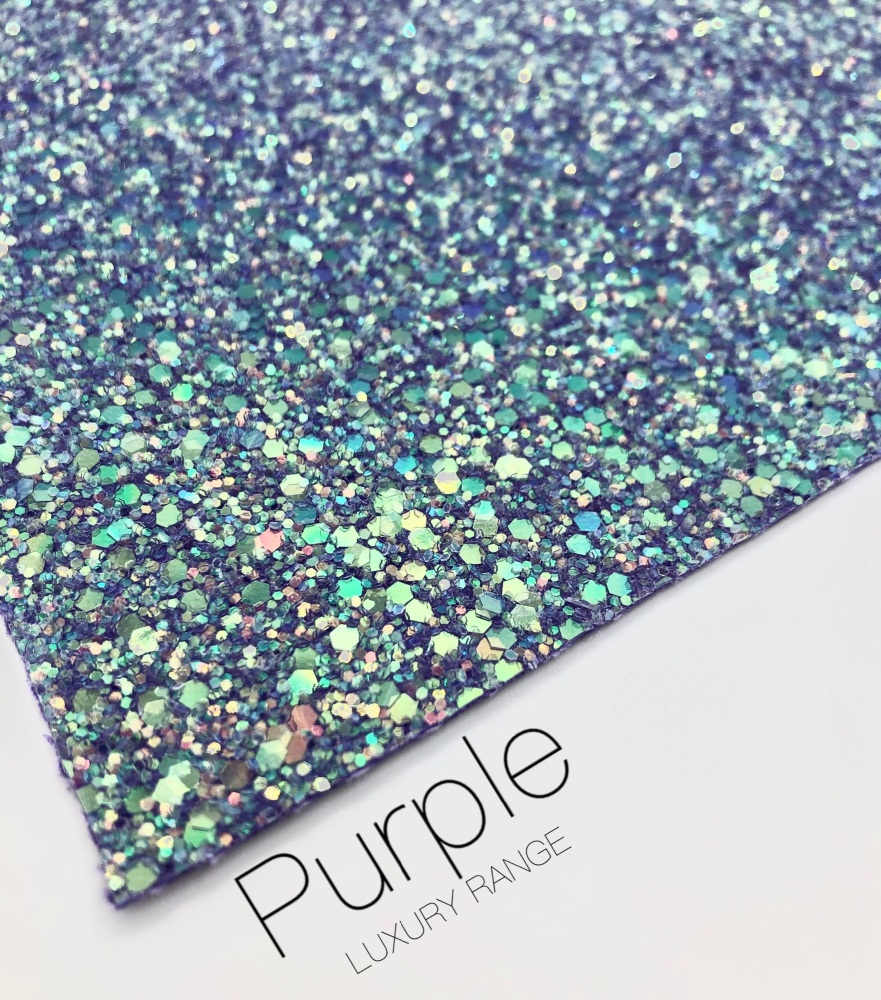 LUXURY - Purple Frosted Chunky Glitter