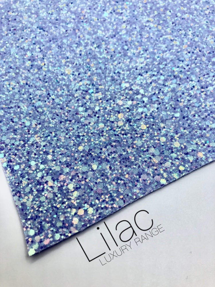 LUXURY - Lilac Frosted Chunky Glitter