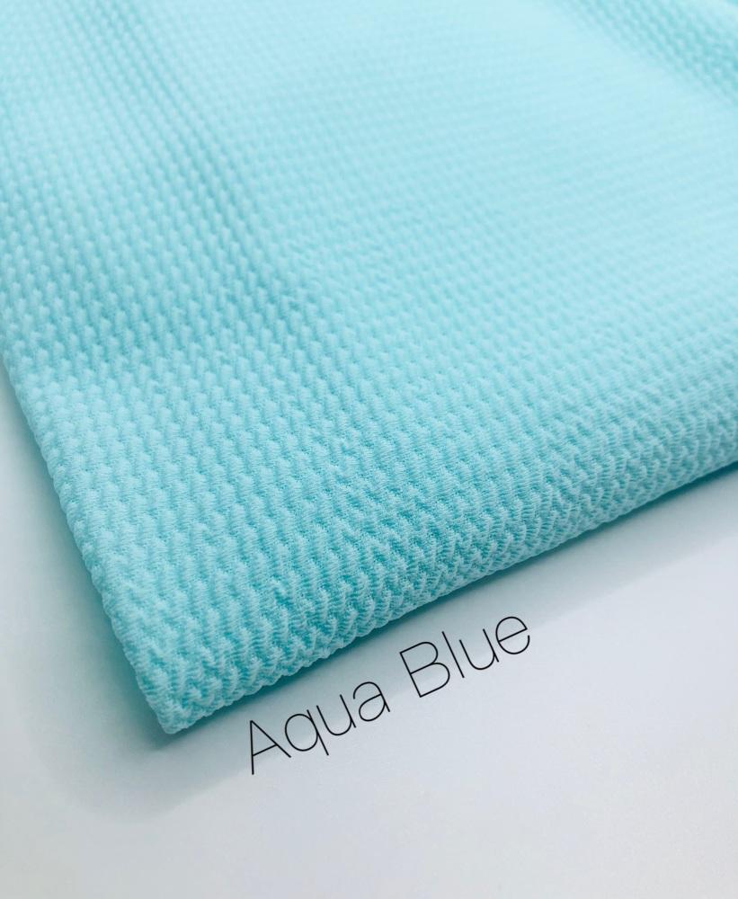 #31 Aqua Blue Bullet Fabric