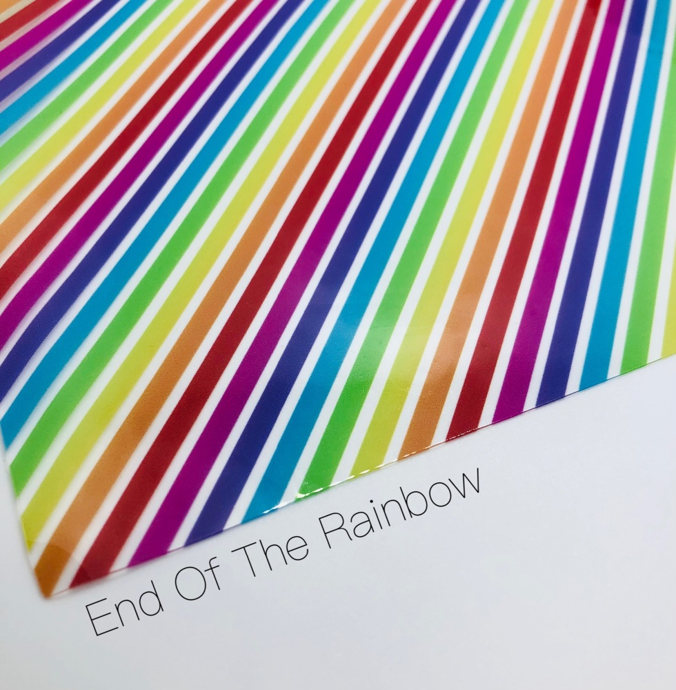 End Of The Rainbow Transparent jelly fabric
