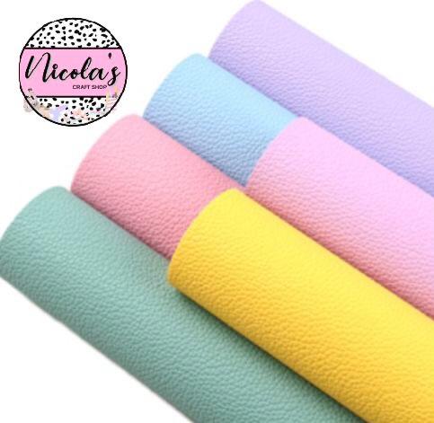 Litchi leatherette fabric bundle bargain pack