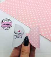 Months of the year princesses are born printed pre cut bow loop