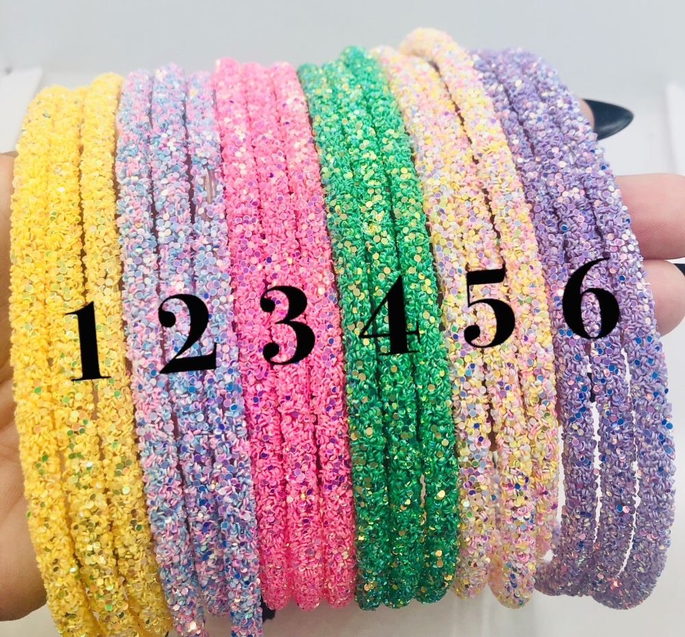 Stunning glitter lined top quality Hairbands Hairband