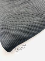 #9 Black Plain Bullet Fabric