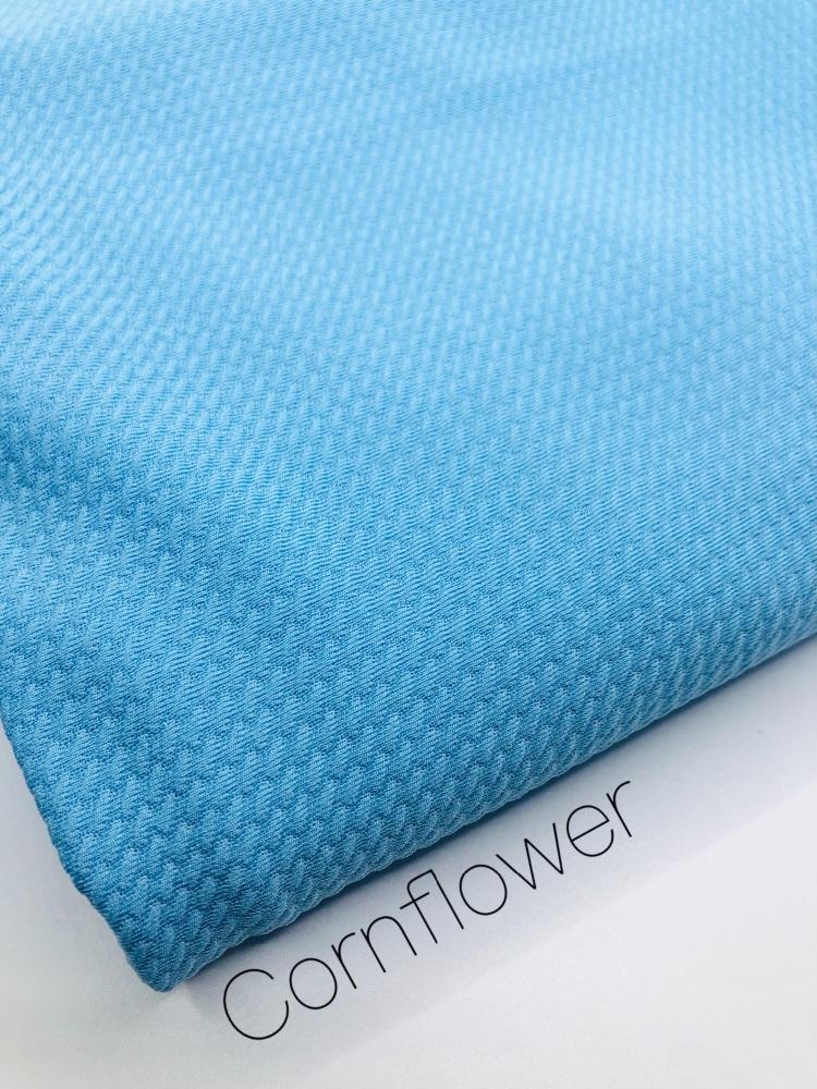 #29 Cornflower Plain Bullet Fabric