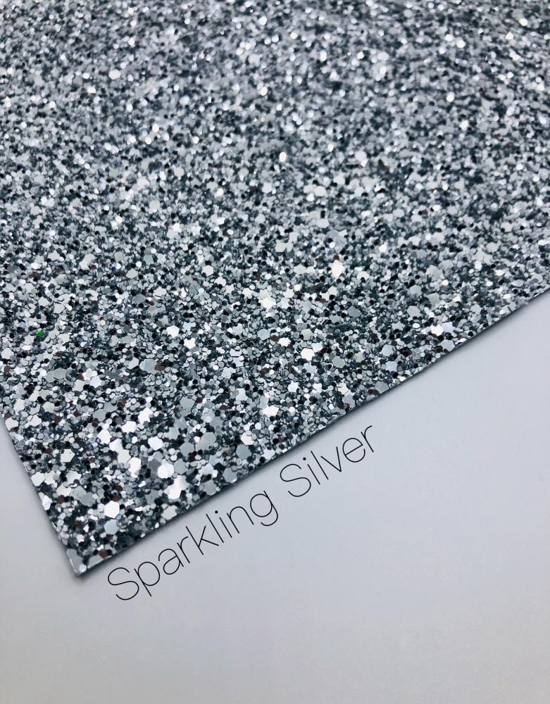 Luxury - Plain Silver Chunky Glitter