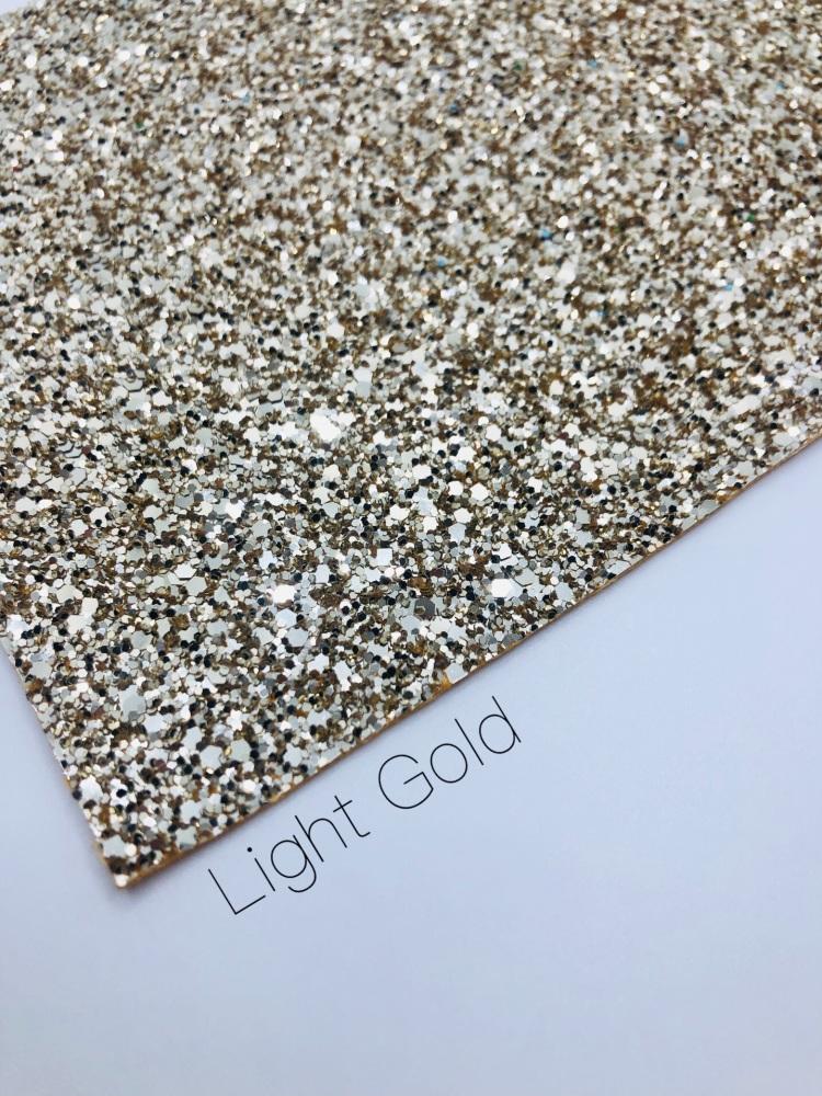 Luxury - Light Gold Chunky Glitter