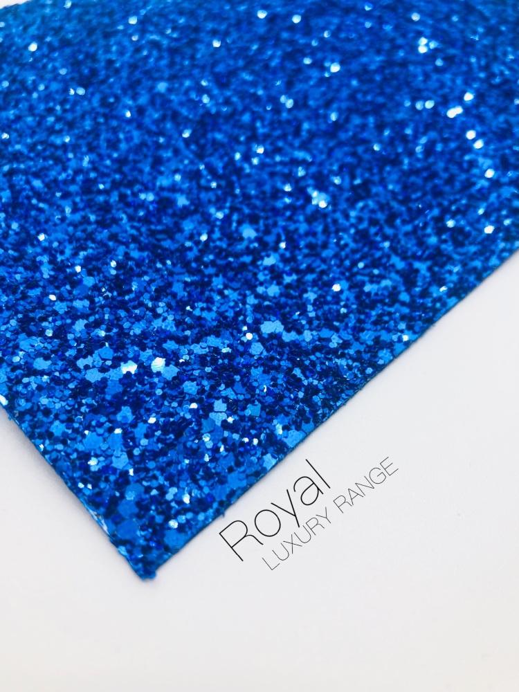 Luxury - Royal Blue Chunky Glitter