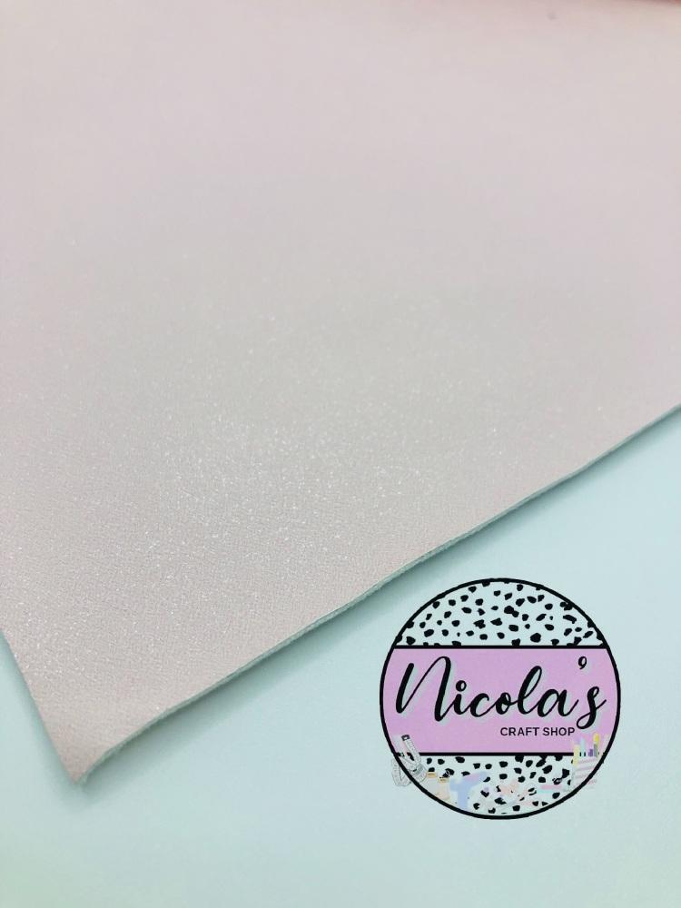GLITTER SHIMMER VELVET - Nude Pink fabric