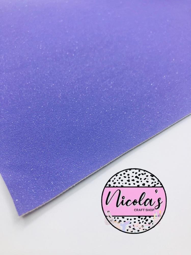 GLITTER SHIMMER VELVET - Purple fabric