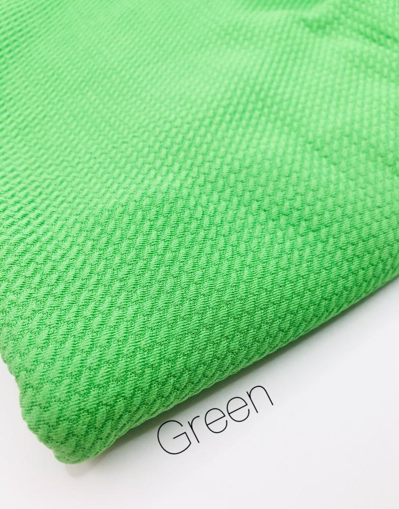 # Green Plain Bullet Fabric