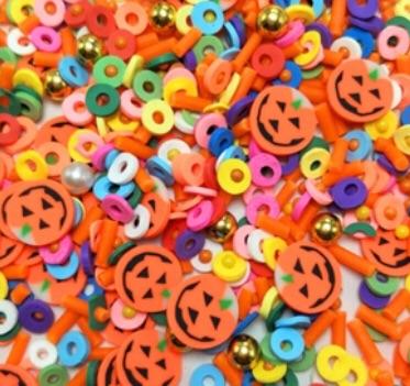 Pumpkin Mixed Glitter Sprinkles