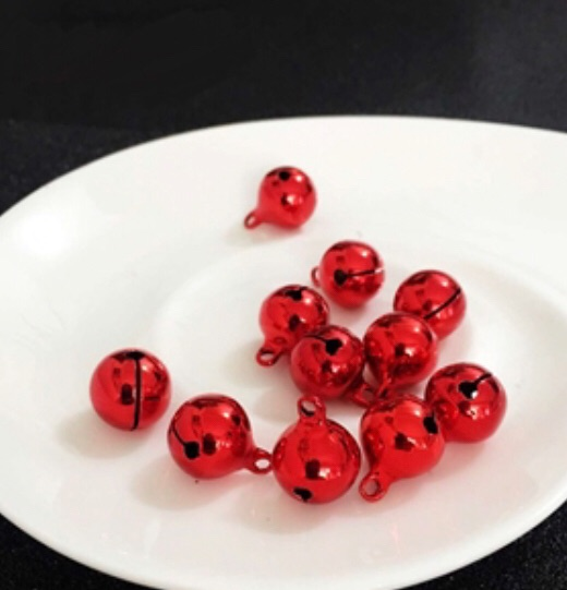 RED - JINGLE BELLS CHARMS