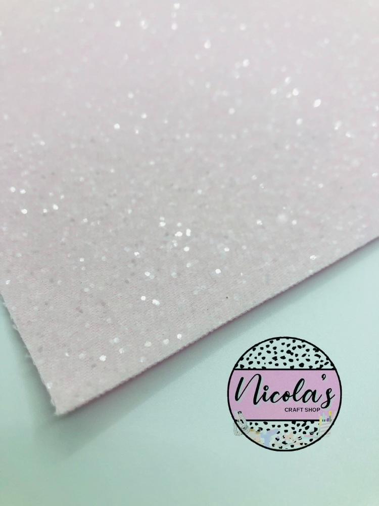 LUXURY - Light Pink Iced Chunky Glitter