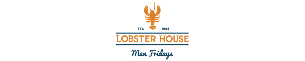 Man Fridays Lobster House, site logo.