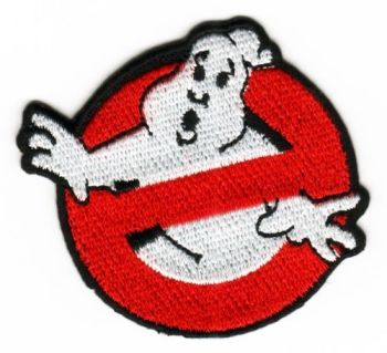 Small Ghostbusters Fabric Embroidered Patch Movies Film Fancy Dress Costume